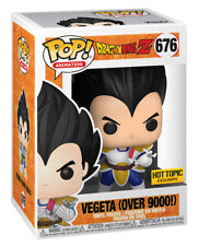 Funko Pop! Animation: Dragon Ball Z - Vegeta (Over 9000!) Vinyl Figure (Hot Topic Exclusive)