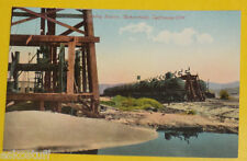 Oil Cars At Shipping Station 1920s Bakersfield CA Early Postcard Great Pic See!