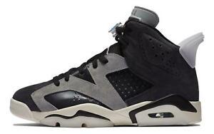 NEW Nike Air Jordan 6 Retro Black Chrome CK6635-001 Women's Shoes Size 6.5