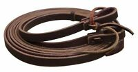 """8' x 5/8"""" Argentina Cowhide Leather Western Split Reins! SHOWMAN! NEW HORSE TACK"""