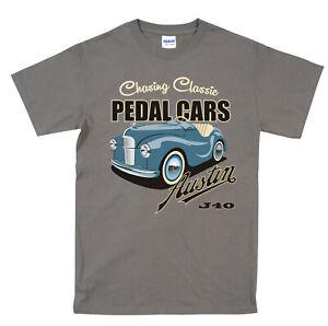 Austin J40 T Shirt Chasing Classic Pedal Car