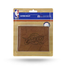 Cleveland Cavaliers Nba En Relieve De Cuero Marrón Billetera Cartera