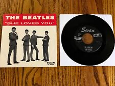 THE BEATLES  SHE LOVES YOU / I'LL GET YOU ~ORIGINAL PICTURE SLEEVE & 45 RPM 1964