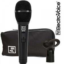 Electro-Voice cardioide Microfono Vocale femminile con interruttore-INCLUDE BORSA & Mic Clip