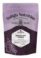 Organic Acai Berry Polvo - 250g-índigo Hierbas