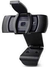 Logitech B910 HD 1080P Cámara web USB Carl Zeiss Tessar Con Micrófono Y Clip en