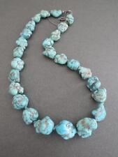 More details for vintage chinese turquoise necklace