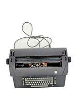 1973 Vintage Ibm Selectric Ii Correcting Electric Typewriter Black Nice Working