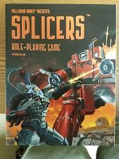 Splicers RPG Core Rulebook 1st Printing Signed by creators - Palladium Books