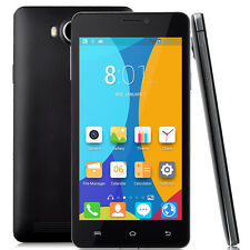 "NEW V10 GSM Unlocked Duo Core 5.0"" Android 4.4 Duo Sim 3G Smart Phone Smart Wake"