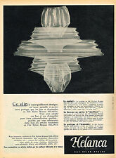 PUBLICITE ADVERTISING 045  1954  HELANCA   slip sous vetements