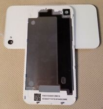 NEW Battery Cover Back Door Glass Rear Case for iPhone 4G GSM A1332 - WHITE