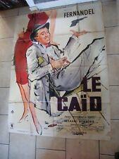 Poster Cinema The Caid Fernandel 1961 118 Sur 61 13/16in