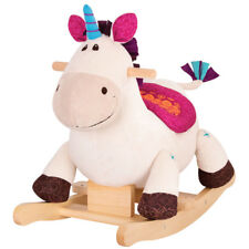 B. Rodeo Rocker Dilly-Dally Unicorn Rocking Horse NEW