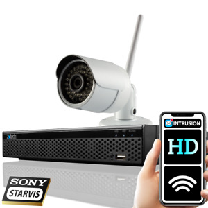 Home Security Wireless 2MP 1080P Wide Angle Outdoor 8 Channel CCTV System