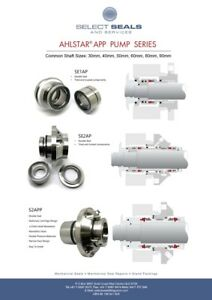 AHLSTAR APP Pump Mechanical Seals - SEA2 - AP - 40 - QREQ 21273127A
