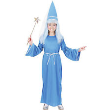 Childrens Blue Fairy Fancy Dress Fairy Tale Costume Outfit Set 140Cm 8-10 Yrs