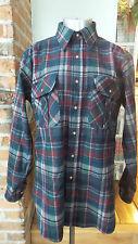 Vintage Pendleton  Plaid Mens Shirt Wool Size M