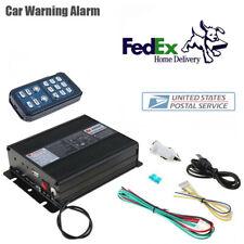 400W Car Warning Alarm Police Fire Siren Horn Speaker PA System Control Host Set