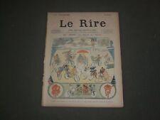 1894 DECEMBER 8 LE RIRE MAGAZINE - ISSUE #5- AU SALON DU CYCLE - FRENCH - FR 818