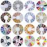 3D Nail Art Ongles Strass Rivets Résine Glitter Cristal Tips Manucure Décoration