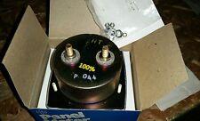 """AMP METER GE 0-1500 / 3000 AC AMPS 3-1/2"""" FACE N.O.S."""
