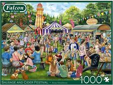 Falcon Deluxe Sausage and Cider Festival Jigsaw Puzzle (1000 Pieces)