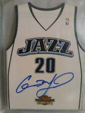 Gordon Hayward Auto 2010-11 Panini Threads #27/99 Utah Jazz
