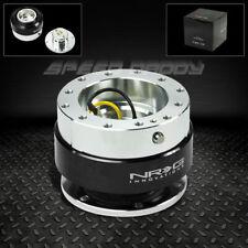 Nrg Steering Wheel Short 6 Hole Gen 10 Quick Release Adaptor Kit Black Chrome
