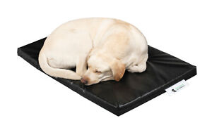 """Dog Bed Cage Crate Matt Chew Resistant Waterproof Tough and Durable Black 5cm 2"""""""
