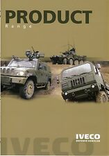 Iveco Defence Product Range 2014 catalogue brochure military rare