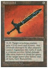 4x Spada Runica - Runesword MTG MAGIC CHR Chronicles English