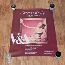 Rare V&A V & A London exhibition poster Grace Kelly : Style Icon