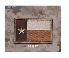 Morale Patch - Milspec Monkey - TEXAS Flag - Desert color scheme