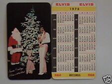 1978 Elvis Presley Wallet Calendar NM/Mint Condition