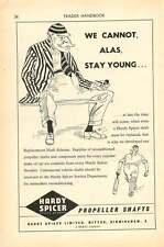 1953 Hardy Spicer Witton Birmingham Prop Shaft Ad