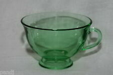 Fostoria PIONEER Light Green Footed Cup only