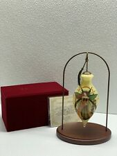 Ne'Qwa Art Retired Holiday Splendor Jessica Galbreth Ornament & Bonus Stand Nwt