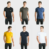 883 Police Mens Casual Cotton Slim Fit Crew Neck Designer Hero T shirt Tee Top