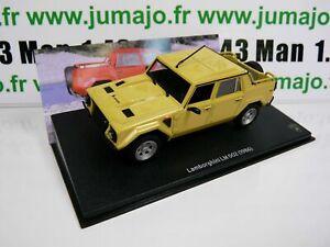 LB20O voiture 1/43 IXO LAMBORGHINI : LM 002 1986 4X4