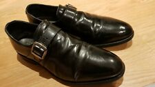 Samuel Windsor, black monk shoes, uk 9.5 good+ condition