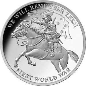 AU WWI 'We Will Remember Them' Commemorative