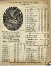 1892 PAPER AD Desideratum Perfection Gun Powder Black Diamond Ammunition