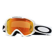 7bf1b5a7a6d Oakley Ski Goggles O2 XM Oo7066-56 Matte White Fire Iridium