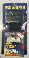 Cassette Player NEW Portable Personal Stereo Walkman Sealed Bonus Maxell Tapes