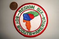 OA BOY SCOUT AMERICA BSA FLAP REGION 6 SIX EAST COAST POCKET PATCH