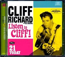 SEALED NEW CD Cliff Richard - Listen To Cliff! + 21 Today