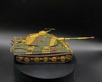 Well Painted 28mm bolt action 1/56 Scale German Tiger II (King tiger) tank Ww2