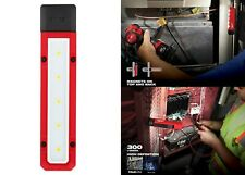 Milwaukee 300 Lumen LED Magnetic Flood Light Portable Battery Work Stick Tool