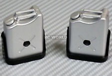 RC 1/10 Scale Accessories FUEL TANK SET  Silver